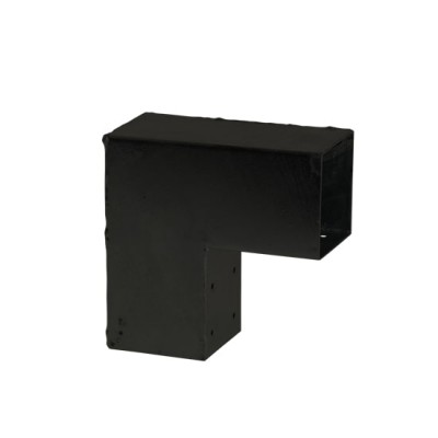 Pergola Hoekverbinding 90° Graden Zwart Cubic