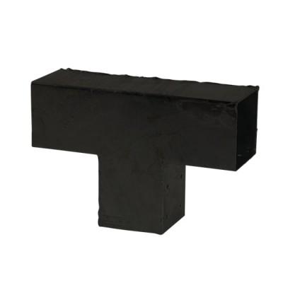 Pergola Verbindingsstuk T-Stuk Zwart Cubic