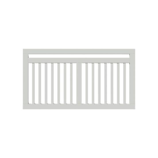 Wit Houten Tuinhek Linea 150 x 80 CM 17695-13 PRE-ORDER