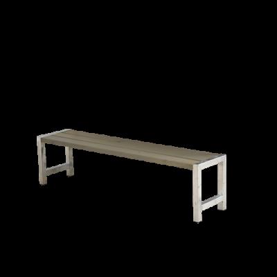 Picknickbank Modern Grijs Bruin