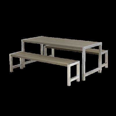 Picknickset Modern Grijs Bruin