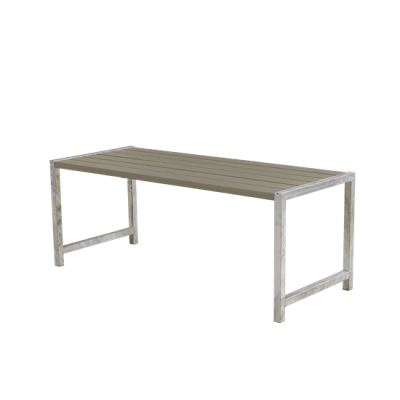 Picknicktafel Modern Grijs Bruin