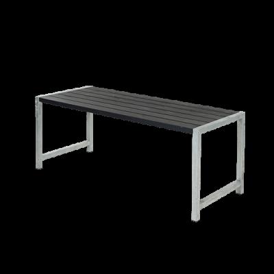 Picknicktafel Modern Zwart