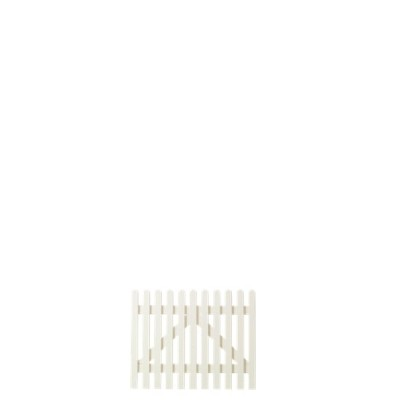 Wit Houten Tuinpoort Retro 100 x 80 CM