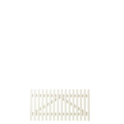 Wit Houten Tuinpoort Retro 150 x 80 CM