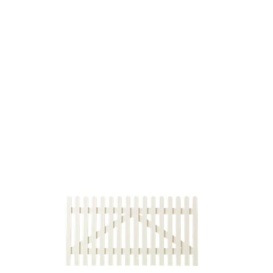 Wit Houten Tuinpoort Retro 150 x 80 CM 13743-13