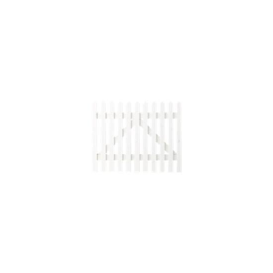 Wit Houten Tuinpoort Skagen Lux 100 x 80 CM 13641-13