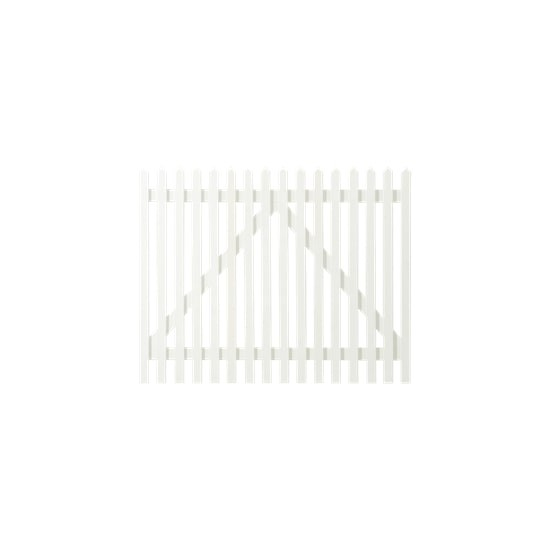 Wit Houten Tuinpoort Skagen Lux 150 x 120 CM 13663-13