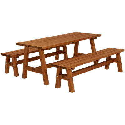 Houten Picknickset Country Teak