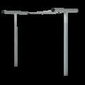 Metalen Waslijnpalen 18423-1