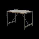 """Moderne Picknicktafel """"Funkis"""" Grijs Bruin"""