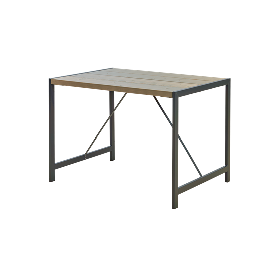 """Moderne Picknicktafel """"Funkis"""" Grijs Bruin 19633-18"""