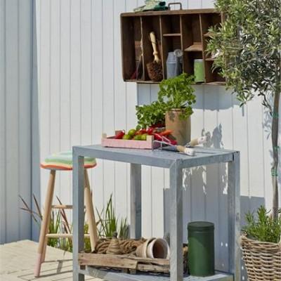 Zinken Tuinwerktafel