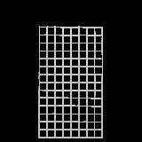 Gaaspaneel Gegalvaniseerd 80 x 140 CM