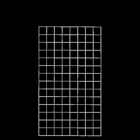 Gaaspaneel Gegalvaniseerd 80 x 140 CM 961662