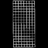 Gaaspaneel Gegalvaniseerd 80 x 170 CM
