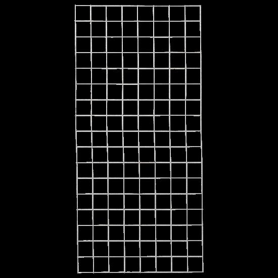 Gaaspaneel Gegalvaniseerd 80 x 170 CM 961655 PRE-ORDER