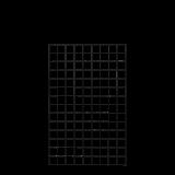 Gaaspaneel Zwart 90 x 140 CM