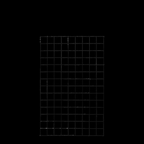 Gaaspaneel Zwart 90 x 140 CM 961624