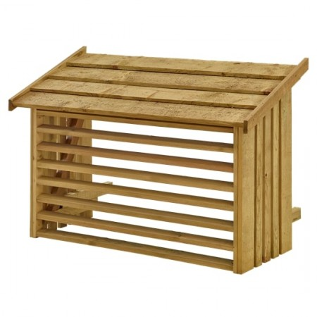 Airco Ombouw Hout