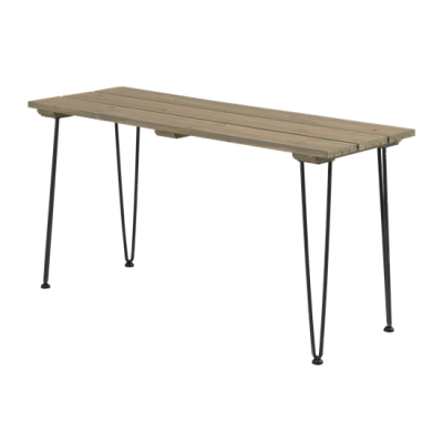 Tuintafel Hout Staal Retro