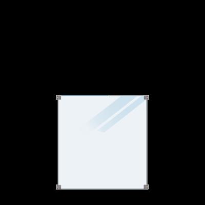 Gehard Gelaagd Mat Glas  90 x 91 CM