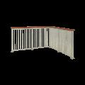 Spijlenhekwerk Staal 90 x 98 CM 17558-1