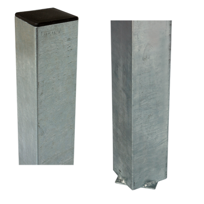 Stalen Paal Voor In Beton 8 x 8 x 186 CM