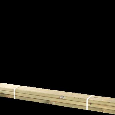 Geïmpregneerde Planken 3 Stuks - 120 CM