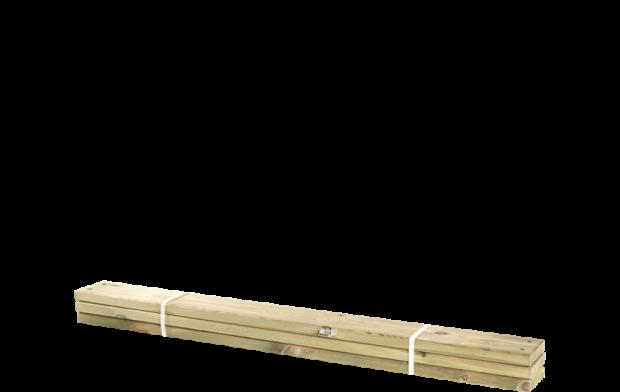 Geïmpregneerde Planken 3 Stuks - 120 CM 17811-1
