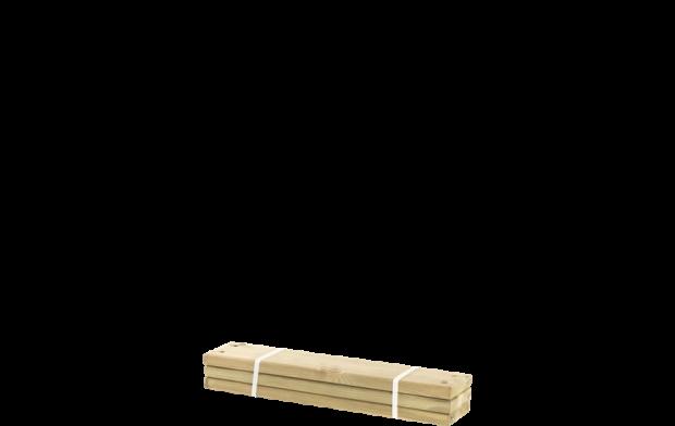 Geïmpregneerde Planken 3 Stuks - 60 CM 17813-1