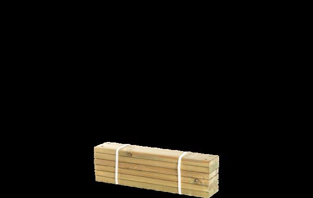 Geïmpregneerde Planken 6 Stuks - 60 CM 17809-1