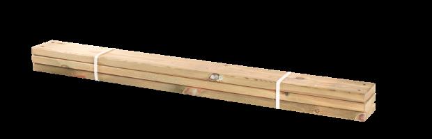 Lariks Planken 3 Stuks - 120 CM 17811-3