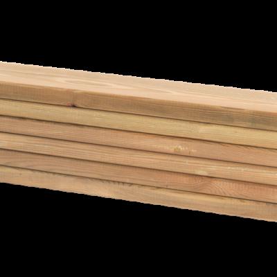 Lariks Planken 6 Stuks - 120 CM
