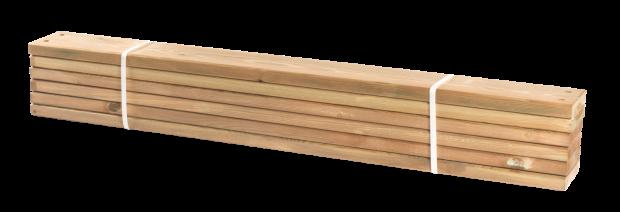 Lariks Planken 6 Stuks - 120 CM 17808-3