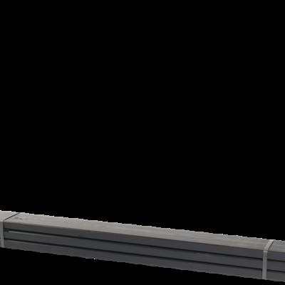 Zwarte Planken 3 Stuks - 120 CM