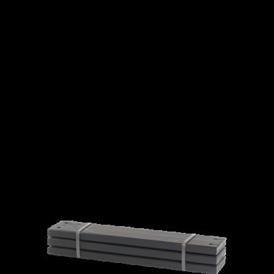 Zwarte Planken 3 Stuks - 60 CM