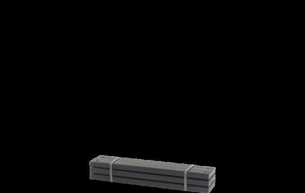 Zwarte Planken 3 Stuks - 60 CM 17813-15