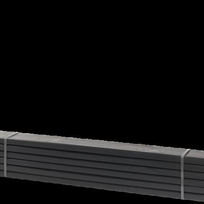 Zwarte Planken 6 Stuks - 120 CM