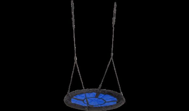 Nestschommel Zwart Blauw 18401-1