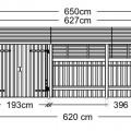 Houten Schuur Met Veranda 167590-1