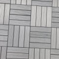 Composiet Terrastegels 30 x 30 Leigrijs - 4 Stuks 4518-1