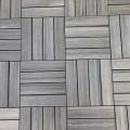 Composiet Terrastegels 30 x 30 Grijsbuin Met Houtstructuur - 4 Stuks 4517-1