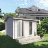 Houten Tuinhuis Zadeldak - 10M²