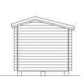 Dubbele Tuinschuur - 9,8M² 65046-1
