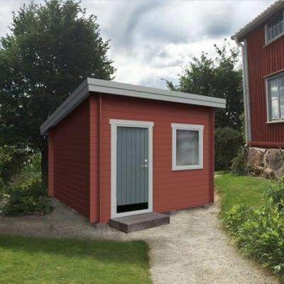 Tuinhuis Schuin Dak - 10M²