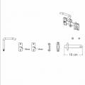 Deurklink Tuinpoort 2442-1