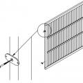 Bevestigingsmateriaal Tuinscherm Gegalvaniseerd Staal 0242-1