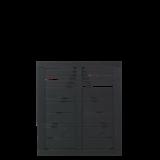 Zwart Houten Tuinpoort Silence 100 x 110 CM