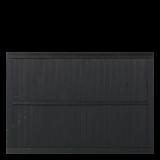 Zwart Houten Tuinscherm Atrium 180 x 122,5 CM